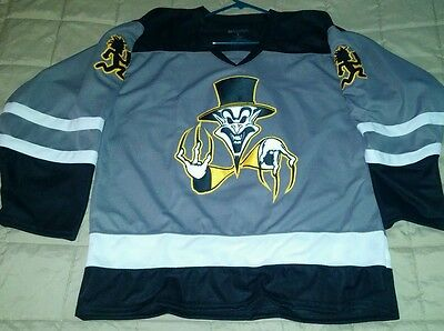 New Insane Clown Posse Ringmaster Juggalo Day Exclusive Hockey Jersey Twiztid