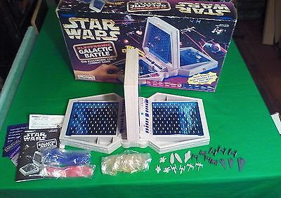 Star Wars Electronic Galactic Battle Game, Complete, Tiger Electronics 1997