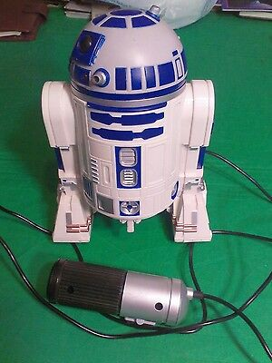 Star Wars R2D2 Remote Control 1997 Hasbro Lights, sounds and movement
