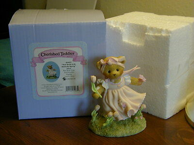 "Cherished Teddies Julene ""Your Smile Is As Sweet As Spring"""
