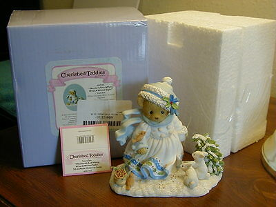 "Cherished Teddies Snowdyn ""Wonderful and White, What a Winter Sight"""