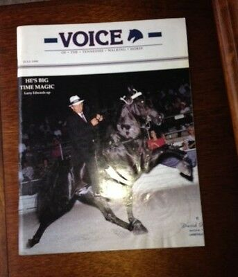 The voice of the Tennessee Walking Horse July 1990 Magazine