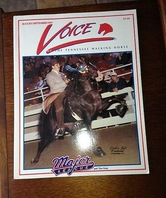 the Voice of the Tennessee Walking Horse magazine Aug./Sept. 1997