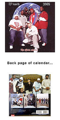 12 x 12 D12 2005 Wall Calendar featuring Eminem Shrink-wrapped New FREE shiping