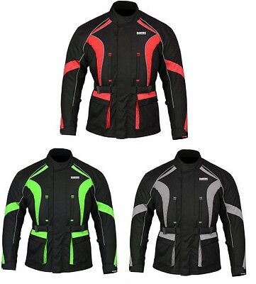 Stylish New Motorbike Waterproof Jacket Motorcycle Armour Mens Protection Jacket