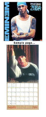 12 x 12 Eminem 2004 Wall Calendar Shrink-wrapped New Collectible FREE shipping