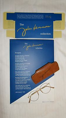 John Lennon Collection ® (JL-05 Imagine) promotional standee, boxes & clip case