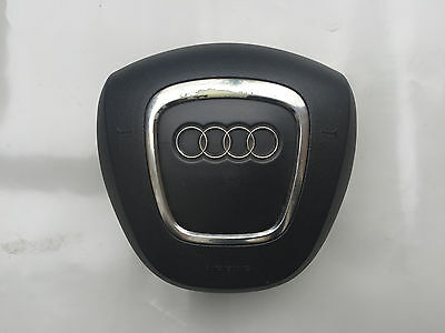 Audi S Line Round Flat Bottom Steering Wheel Airbag 2012-2016 8R0880201Q6Ps