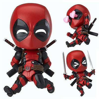 New In Box Marvel Deadpool Orechan Edition Nendoroid 662 Action Figur Figuren