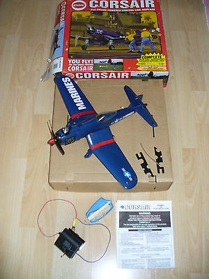 VINTAGE COX CORSAIR .049 Engine Powered Control Line Airplane - SPARES OR REPAIR
