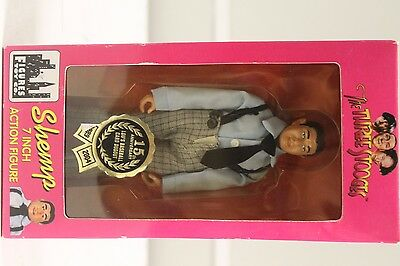 "VINTAGE 15th ANNIVERSARY THE THREE STOOGES 7"" SHEMP ACTION FIGURE DOLL"