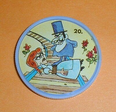 Bullwinkle Coin #20 - Gordon's Potato Chips 1960's Exc Condition