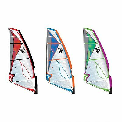 Ezzy Elite Wave Windsurf Segel mit 4 Latten - Ezzy Sails 2016 Surfsegel