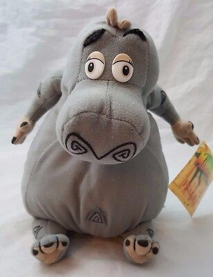 """Gloria The Hippo From Madagascar The Movie 8"""" When Sitting Soft Plush Toy"""