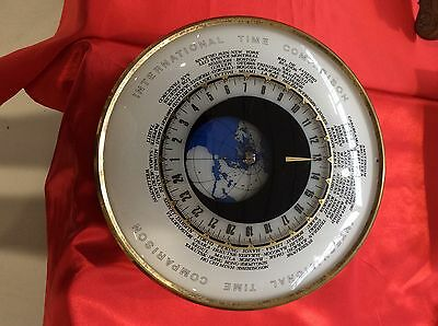 orologio da tavolo International Time Comparison in tutte le ore del Mondo