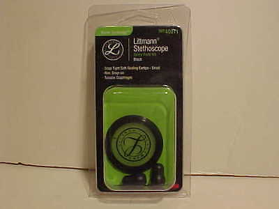 3m Littmann Replacement Diaphragm Eartips Master Cardiology 40011 Black (NO RIM)