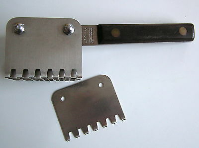 Large Commercial  Meat Tenderizer Foster Bros. Stainless Butcher Chef USA