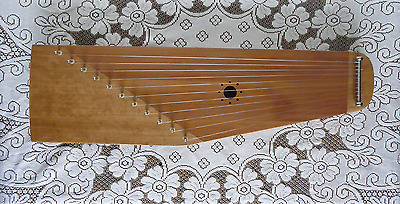 Kantele / Kokle - Eleven String - Cherry and Western Red Cedar