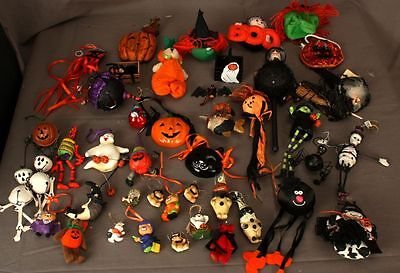 Large Lot of Halloween Tree Ornaments