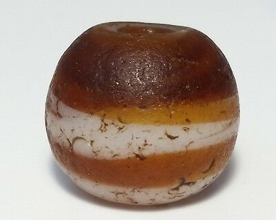 16mm ANCIENT RARE GLASS BEAD