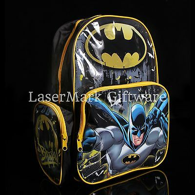 Brand new kids toddlers Batman backpack school bag Free Shipping