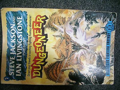Steve Jackson Ian Livingstone Advanced Fighting Fantasy DUNGEONEER
