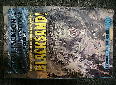 Steve Jackson Ian Livingstone Advanced Fighting Fantasy BLACKSAND