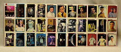1979 Paramount Uncut Sheet Star Trek 33 Cards - Never Been Displayed