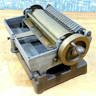 """Antique Brass King Sales & Engineering 6"""" Hand Drive Label Paster"""