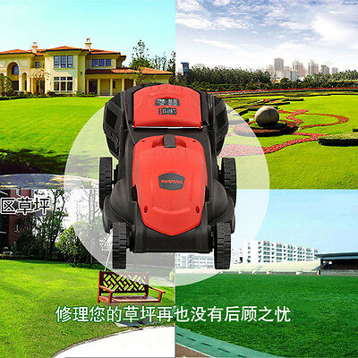 1200W  220V Electric Mower 30L Cordless Rechargeable Lawn Mower Weed Cleaning