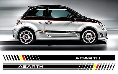 fiat punto abarth streifen sticker aufkleber eur 21 69 picclick de. Black Bedroom Furniture Sets. Home Design Ideas