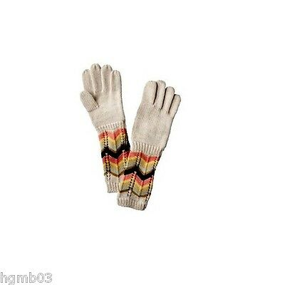 Missoni For Target Gloves Ivory Size Xs/s, M/l - New