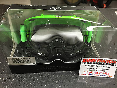 Fox Airspc Goggle Day Glo Green Motorcross Dirtbike