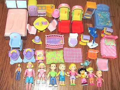 Lot Fisher Price Loving Family Dollhouse People Figures Furniture Accessories