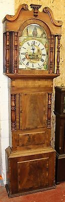 1850 Grandfather clock -Rick Owen from Hereford + boat  swinging left and right