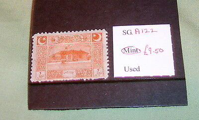Turkey Stamps, Sg A 122, Mint, Stated To Catalogue £9.50