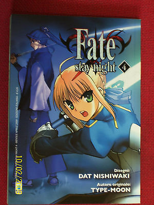 FATE STAY NIGHT- N° 4 DI:TYPE-MOON -  STAR COMICS   manga