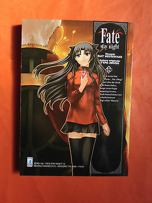 Fate Stay Night  N° 12-Di: Type-Moon - Manga-Star Comics- Nuovo