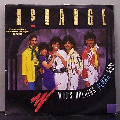 """(o) DeBarge - Who's Holding Donna Now (7"""" Single)"""