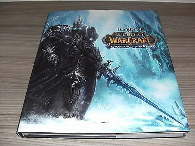 The Art Of World Of Warcraft: The Wrath Of The Lich King. New Hardcover Book.