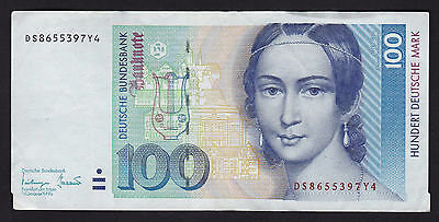 Germany Federal Republic 1993 100 Deutsche Mark Banknote P-41c