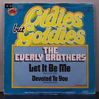 """(o) The Everly Brothers - Let It Be Me (7"""" Single)"""