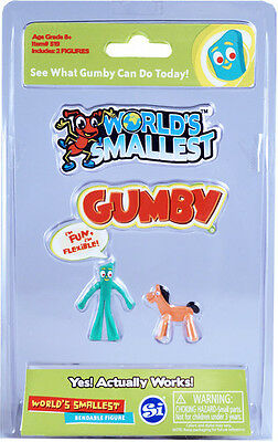 Worlds Smallest Gumby - Worlds Smallest (2017, Toy NEW)