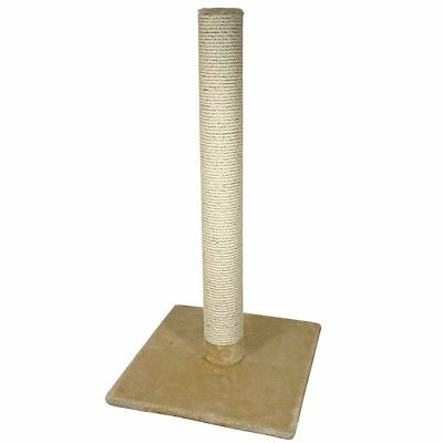 Cat Kitten Pet Scratching Post Activity Centre Toy Schracher Large 80cm High