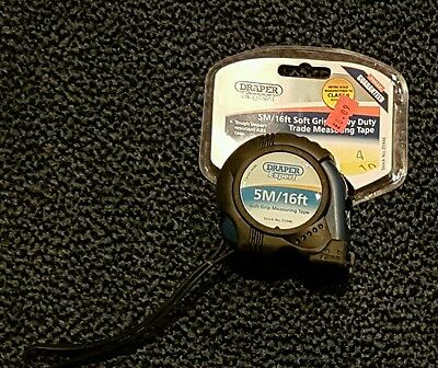 Draper 35946  expert 5m/16ft soft grip heavy duty measuring tape