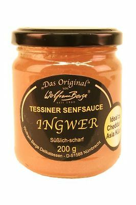 Berge Original Tessiner Ingwer-Senfsauce 200 ml