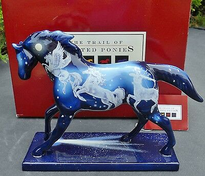 NEW 1E-0898 STARDUST Trail of Paint Ponies 10 Herd 2007 WESTLAND Retired 7/2011