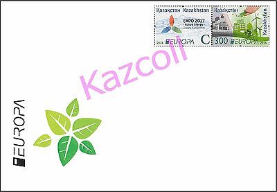 Kazakhstan 2016.  Europa - CEPT. Think Green.   A letter to Your addre