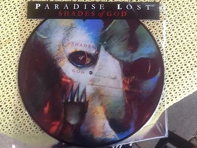 Paradise Lost Shades Of God Vinyl LP Picture Disc