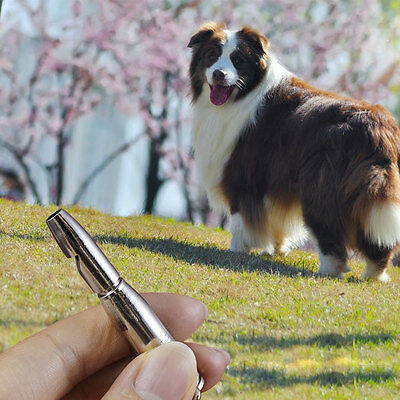 Pet Dog Training Obedience Whistle UltraSonic Supersonic Sound Quiet
